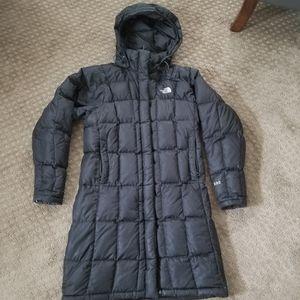 The northface metropolis knee length coat
